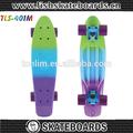 nuevo 22 pulgadas centavo de plástico tabla de skate