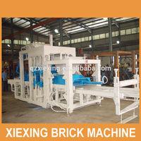 2014 Highest Quality block manufacturing machine XQY10-50 full automatic concrete block making machine for hollow brick