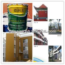 exterior emulsion paint of building