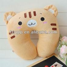 plush u shaped cushion,animal like pillow for promotion