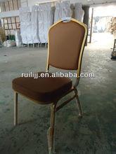 2015 Bazhou Big Sale Iron Stackable Banquet Hotel Chair