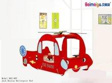 Kid Bed Furniture /Kid Helicopter Bed /Children Bed Plane Design 902T-98A