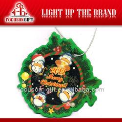 Promotion products paper Christmas Item freshener