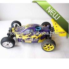 Controle remoto carros a gás, Rc hobby nitro Rc escala 1 / 8th carro 4WD nitro gas powered off road buggy