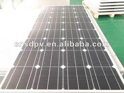 150W Monocrystalline PV Solar Panel