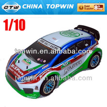 1:10 Scale Nitro Powered Rally Car rc Car model toy sale rc sprint car toy
