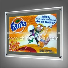 Acrylic Super Slim Crystal LED Light Box