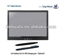 19inch LCD monitor digital pen tablet, lcd drawing tablet