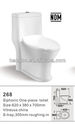 stock ! cheap special low price NOM ,one-piece toilet 268