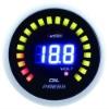 AUTO METER 52mm blue LED display digital oil pressure LED gauge