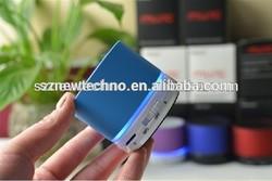 Hottest bluetooth speaker portable wireless car subwoofer/mini bluetooth speaker