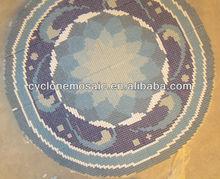 Bisazza de mosaico de cerámica azulejo piso medallones para la decoración de la pared, medallón de cerámica