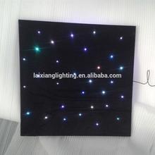 Fiber optic lighting decoration acrylic ceiling Accept any shapes & sizes