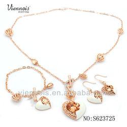 2014 wholesale cheap gold plating fashion jewelry