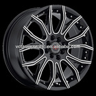 Aluminum Alloy Chrome Tuner Mag wheel 17 18 20 inch R4 black machined