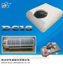 Model: DC18 - 1800w, 12v & 24v split electric air conditioner for cars