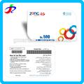Großhandel Papier oder pvc-material tablet pc Prepaid visa Aufruf sim Kreditkarte Maschine