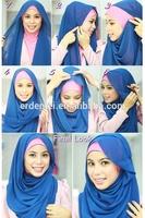 fashion hijab /dubai hijab wholesale/muslim hijab wedding dress