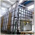 Bogie- hogar del horno de recocido de gas fundición forja de cilindros de glp horno de recocido fábrica de fábrica