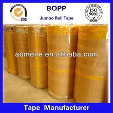 hot film roll tape! china manufacturer bopp jumbo roll tape