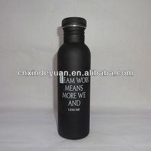 single wall stainless steel sports bottle water bottle bicycle bottle