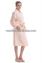 Pink air layer women's waffle nightwear