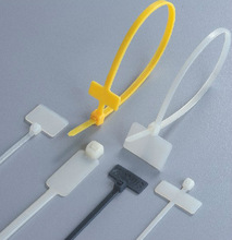 Brand Plate Type Nylon Cable Ties