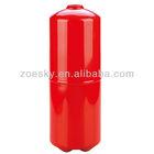 Portable fire extinguisher bottle