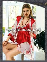 Adult Sexy Lingerie, women white bedroom wear