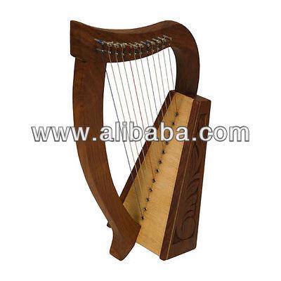 "Celta da irlanda harp rosewood gravada 12 cordas da harpa 21""/baby harpa 12 cordas/mini harp12 cordas"