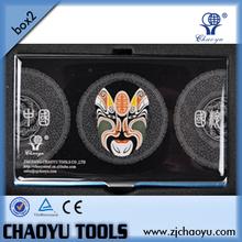 Black Beijing Opera Facial Masks Business Name Credit ID Card Holder Case/magic wallet