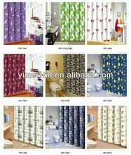 textile shower curtain 180x180cm polyester bathroom shower curtain / durable textile shower curtain