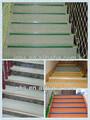 el certificado de sgs de aluminio y pvc paso escaleras
