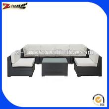 modern rattan patio sectional conversation sofa set ZT-3097S