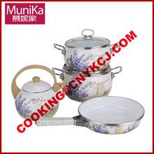 Top Cookware Set Cookware Cook & Strain Nonstick Cookware Set / Tea kettle & Frying pan set