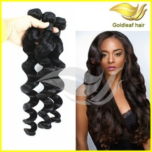 Gold leaf factory supply AAAAA unprocessed wholesale india virgin hair