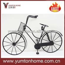 Metal 3D creative bicycle wall art/ wall decoration