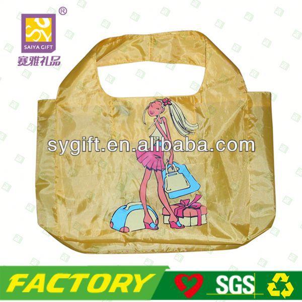 Fashion foldable monofilament nylon mesh filter bag