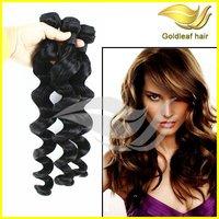 Gold leaf factory supply AAAAA unprocessed wholesale brazilian fusion hair