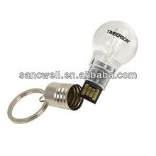 Lighted Bulb USB Flash Drive Custom Logo