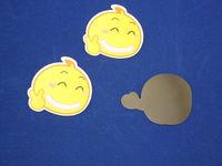 Cute die-cut home decoration soft rubber refrigerator / fridge magnets