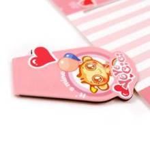 Loving pattern for kids Folding & Promotional magnetic bookmark