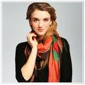 2014 bufanda de moda, Mantón, Pashmina, Hijab, Pañuelos de seda, Neckwarmer, Lazo de la bufanda de moda profesional en China