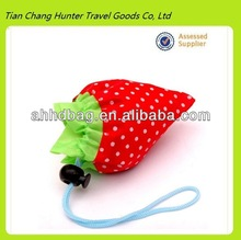 fruit shape folding polyester shopping bag