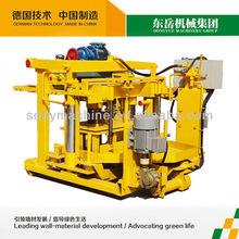 semi automatic hollow block machine egg laying qt40-3a dongyue machinery group