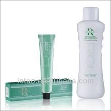low ammonia permanent ROLaX hair color dye semi permanente del pelo de color crema de color