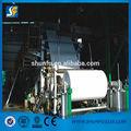 Grande capacidade A4 papel que faz a máquina com alta qualidade
