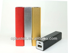 colorful mobile travel charger power banks 2000mah for smartphone