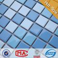 Ya38 plaza azulejo medallón del mosaico del piso patrones, cuarto de baño de mosaico azulejos de piso, de cerámica azul del azulejo del mosaico