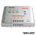 Wellsee 12/24v inteligente de bateria solar controlador de carga ws-al2460 60a para painel solar